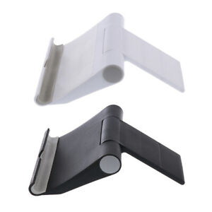 2Pack Universal Holder Desktop Stand Bracket Stent For Phones Black+White