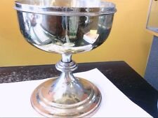 LARGE Vintage Sterling Silver Gold Plated Ciborium/Chalice- Communion. BUY NOW!!