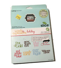 Making Memories Slice Design Card Words & Expressions Holiday 33064