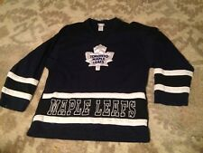 TORONTO MAPLE LEAFS HOCKEY JERSEY NHL YOUTH LARGE 14/16 BLUE OFFICIAL LICENSED!!