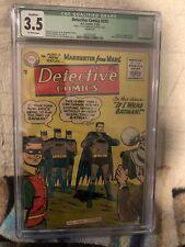 Detective Comics #225 CGC VG- 3.5 CGC Qualified Off White 1st Martian Manhunter!