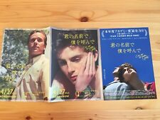Call Me By Your Name poster+flyer set (in stock) free shipping