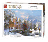 1000 Piece Cottage Jigsaw Puzzle To The Church Best Temple Cathedral 05741