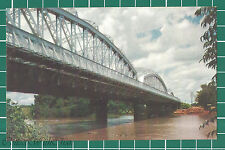 (CWC) Malaya 1950s/1960s Bridge Spanning Perak River Postcard #3311 Near Mint