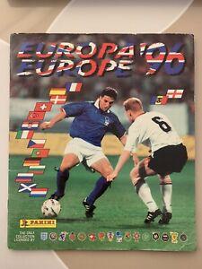 Panini EURO 96, COMPLETE ALBUM, 100%, RARE, NO WRITING, ENGLAND 1996, FULL!!!