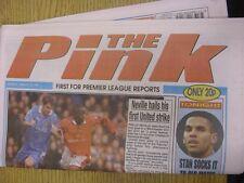 28/02/1998 COVENTRY evening Telegraph il rosa: principali titolo recita: SETTIMO Hea