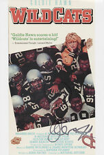 GOLDIE HAWN Signed 12x8 Photo WILD CATS & PRIVATE BENJAMIN COA