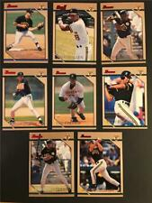 1996 Bowman Pittsburgh Pirates Team Set 8 Cards