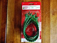 10 Christmas Holiday Time Garland Ties New Other(old stock)