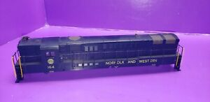 SHELL & RAILINGS ONLY HO Scale Athearn Norfolk & Western Trainmaster Loco #164