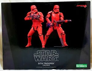 Sith Trooper two pack 1/10th Scale Pre-Painted Model Kit ArtFX STar Wars