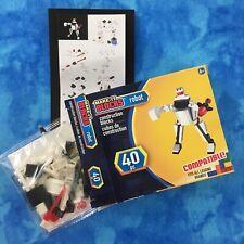 Make-It Blocks, White Robot 40 Pc. Fits All Leading Brands, Age 6+, Nib