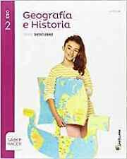 (RJA).(16).GEOGRAFIA HISTORIA 2ºESO.(+CUADERNO) *RIOJA*. ENVÍO URGENTE (ESPAÑA)
