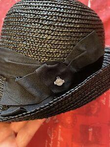 Seeberger Summer Hat Black