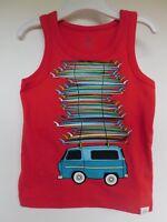 NWT Gap Baby Toddler Boy Tank Top Surf Boards Sizes 12-18M 2 Yrs 4 Yrs New