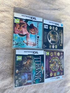 Nintendo DS Game bundle 4 hidden mysteries and Prof Layton games