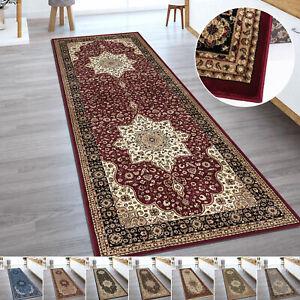 Traditional Oriental Non Slip Hall Runner Rug Large Hallway Kitchen Floor Carpet