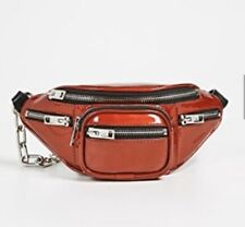 New Alexander Wang mini Attica red patent fanny pack