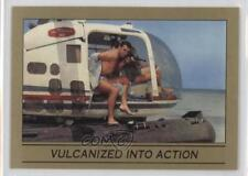 1993 Eclipse James Bond 007 Series 1 #96 Vulcanized Into Action Card 0b6