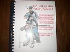 Civil War History of the 21st North Carolina Infantry Regiment