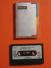 """VERY RARE - WHAM """"I'M YOUR MAN"""" 1985 3 TRACK LIMITED EDTION CASSETTE SINGLE"""