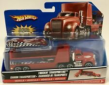 Hot Wheels GROUND FX Truckin Transporters Red Color M8750 ~ 2007 Sealed Package