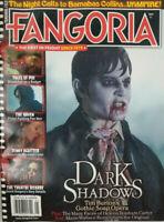 Fangoria Magazine 2012 #313 - Dark Shadows - Johnny Depp - Helena Bonham Carter