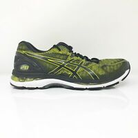 Asics Mens Gel Nimbus 20 T800N Lime Black Running Shoes Lace Up Low Top Size 9.5