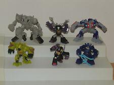 Lot of 6 Hasbro Transformers Mini Robot Heroes Figures 2006 - 2007