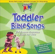 Toddler Bible Songs Twenty Four Classic Christian Song for Kids (Audio CD), Ceda