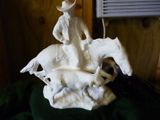 Ceramic Rodeo Calf Cutter Ready to paint