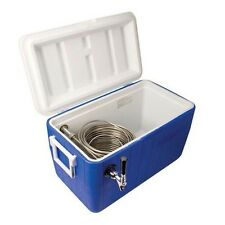 Cooler Kegerator Coversion Beer Jockey Box Pump Single Faucet Draw 50' Coil