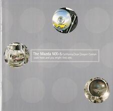 Mazda MX-5 California Jasper Conran Icon Limited Edition 2000 UK Market Brochure