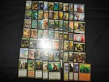 100 Card Green Ezuri Elf Deck- Ready to Play - EDH Commander - Magic MTG FTG
