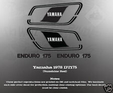 YAMAHA 1978 DT175 DECAL GRAPHIC KIT LIKE NOS