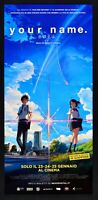 Cartel Your Name Makoto Shinkai Taki Tachibana Mitsuha Miyamizu Manga L18