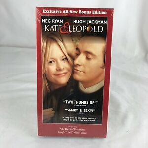 """Kate & Leopold"" (VHS) Video Tape Meg Ryan Hugh Jackman - Romantic Comedy"