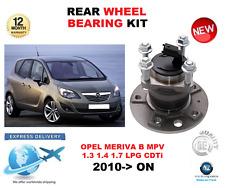 FOR OPEL MERIVA B REAR WHEEL BEARING KIT 2010->ON MPV LEFT or RIGHT HAND SIDE