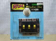 ATLAS # 205 HO Scale Custom Line CONNECTOR ASSEMBLY, Triple Switch Set