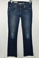 Adriano Goldschmied AG The Angel Bootcut Womens Jeans Size 26R Blue Meas. 28x31