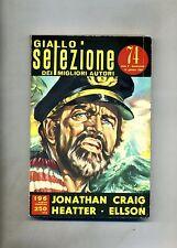 GIALLO SELEZIONE DEI MIGLIORI AUTORI N.74 # Manhunt 1964 - Craig-Heatter-Ellson