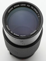 Canon macro Zoom Lens FD 70-210mm 70-210 mm 1:4 4