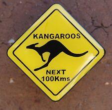 Kangaroos Next 100kms Pin badge 22mm x 22mm