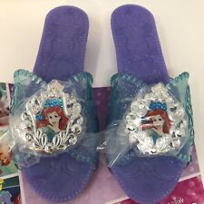 Disney Princess Ariel Girls Dress Up Shoes Play Toy Slipper