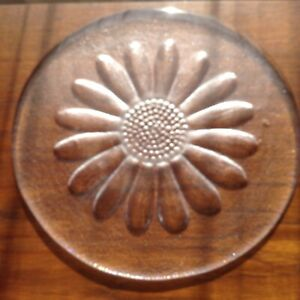 Dartington Glass Daisy 10.5'' Cheese Plate Frank Thrower Macramé Project?
