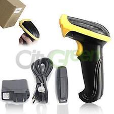 2.4GHz USB WIFI Handheld Wireless Laser Cordless Barcode Scanner Scan Gun Reader