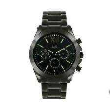 Jag Mens Black Chronograph Watch J2167A Stainless Steel Chronograph