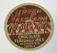 Green Vale Dairy Farm Gerrit J Buth Eastmanville Michigan MI VTG Milk Bottle Cap