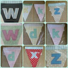 BRAND NEW SEALED IN PACKET Mamas and Papas Bunting Letters D W K X Z pls ask....