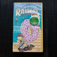 THE SIMPSONS - RAIDERS OF THE LOST FRIDGE - VHS